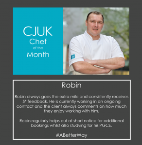 Robin Beeson - Chef of the Month - January 18