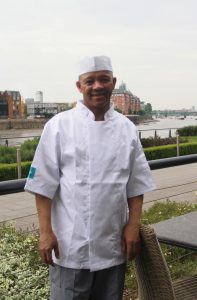 Harry CJUK Chef in whites