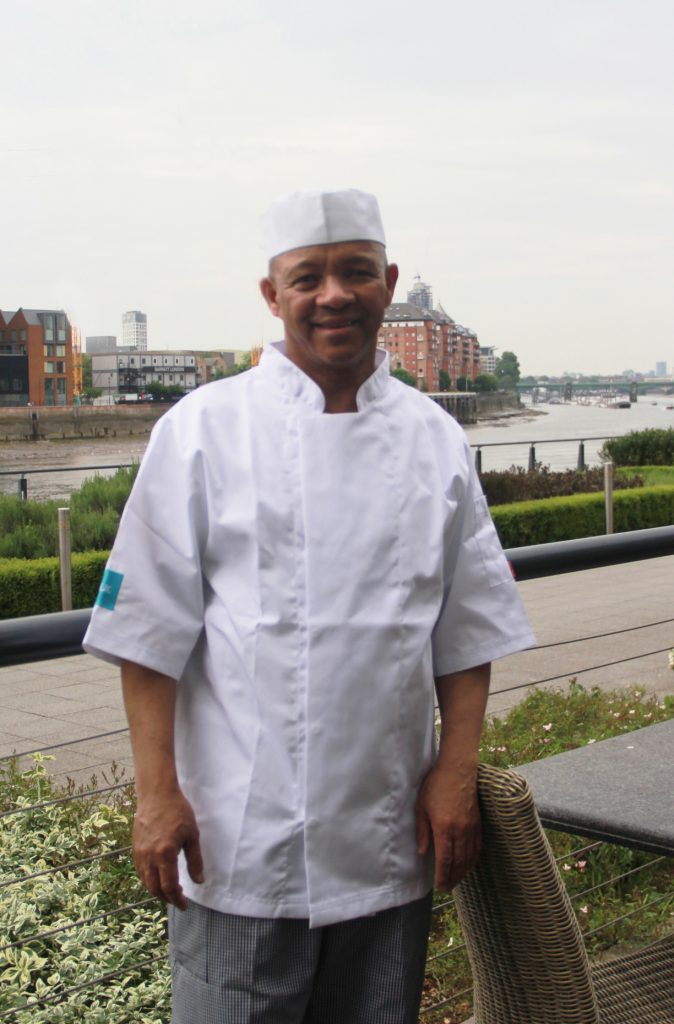 Harry CJUK Chef in whites