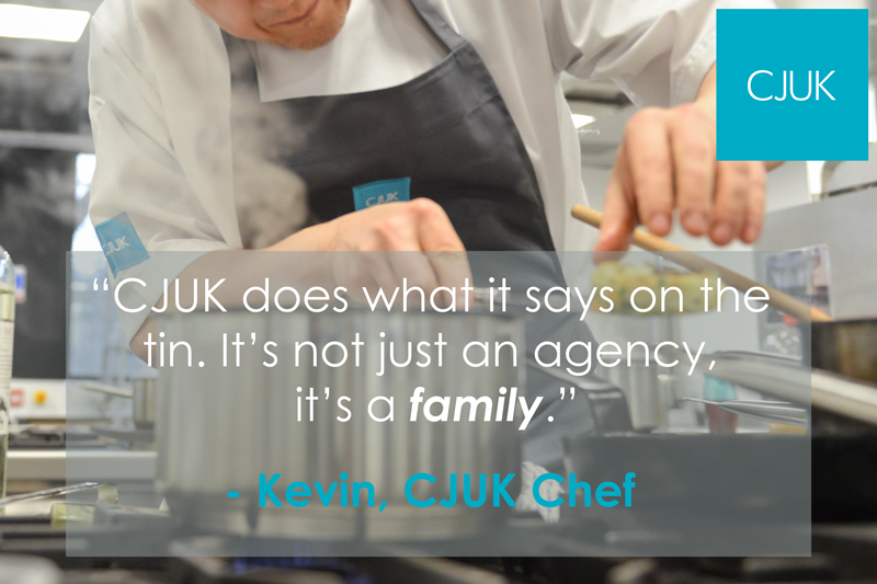 Kevin Chef Testimonial Image
