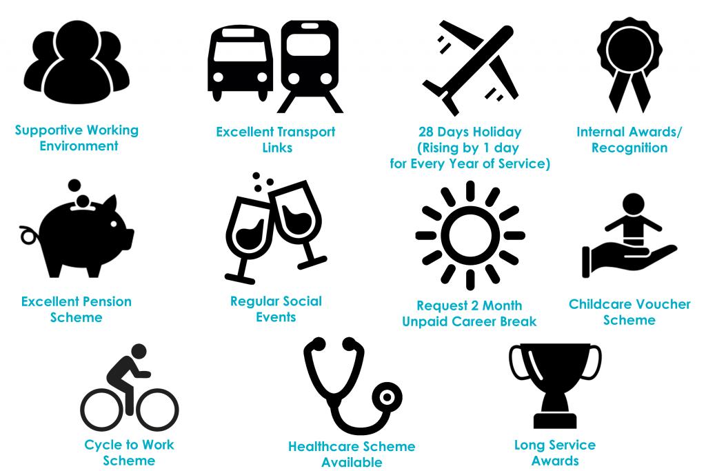 CJUK Staff Benefits Image