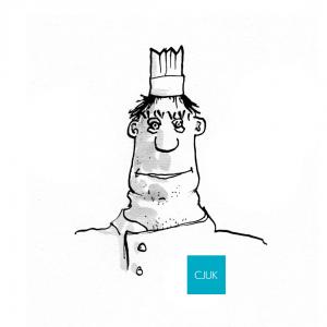 CJUK Chef Illustration