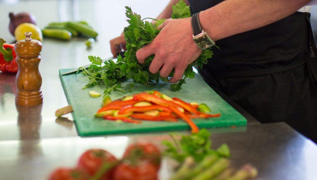 CJUK Cook prepping