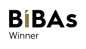 BIBAs winner logo